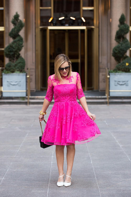 Pink Lace Dress by Monique Lhuillier 8.jpg