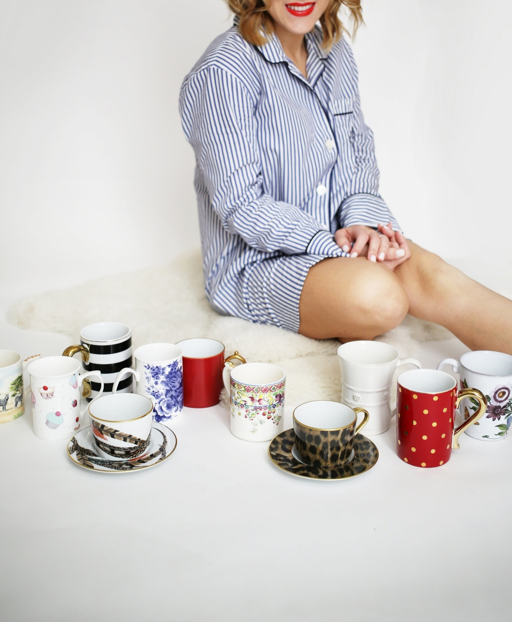 J.Crew striped pajamas and Lerant coffee cups 6.jpg