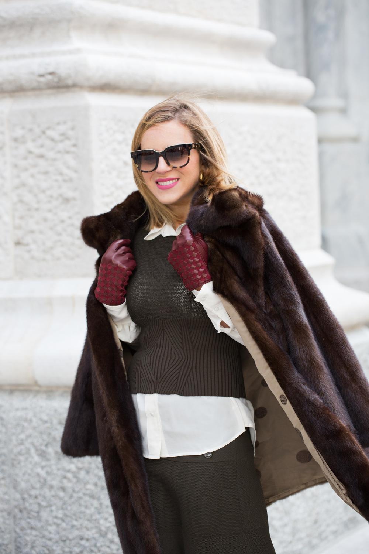 NYFW Chanel set with Prada heels and Vintage Fur Jacket 3.jpg