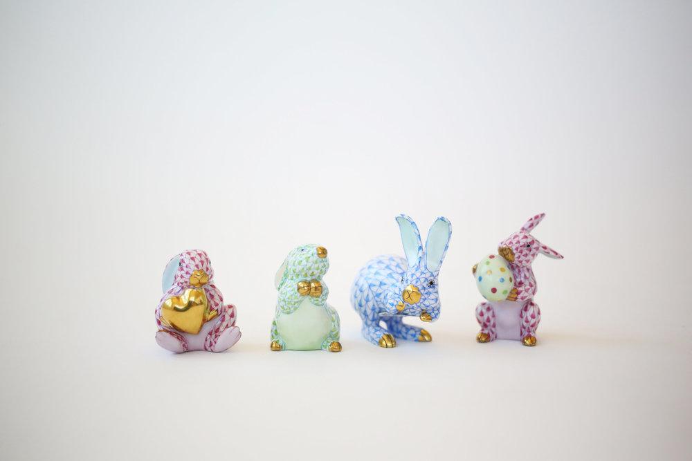 Herend Bunnies for Easter 1.jpg