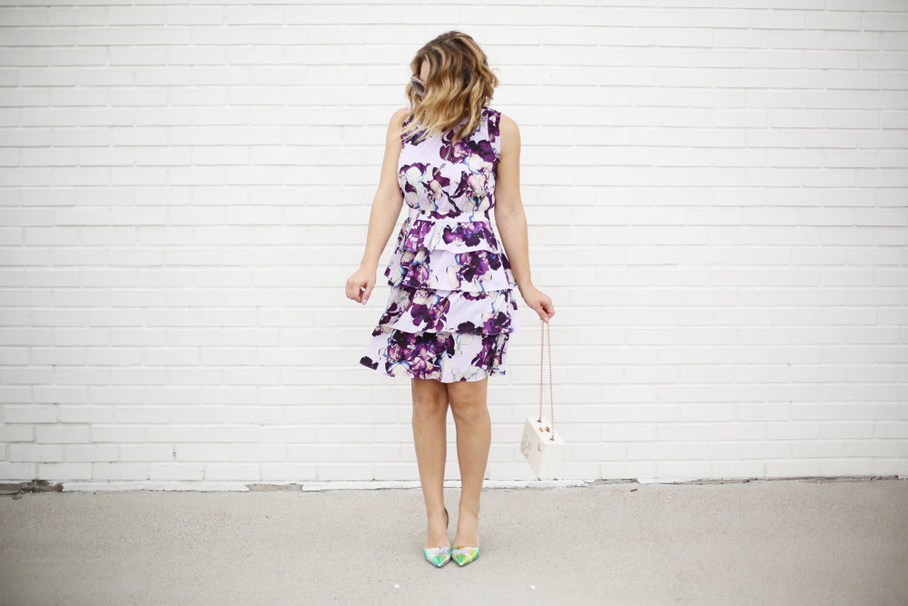 Banana Republic purple floral dress with ruffles 5.jpg