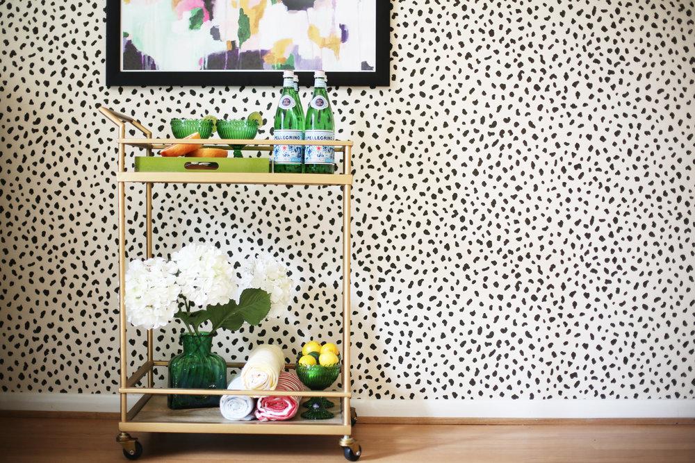 Summer Gold Bar Cart:summer wraps:tanzania wallpaper-4.jpg