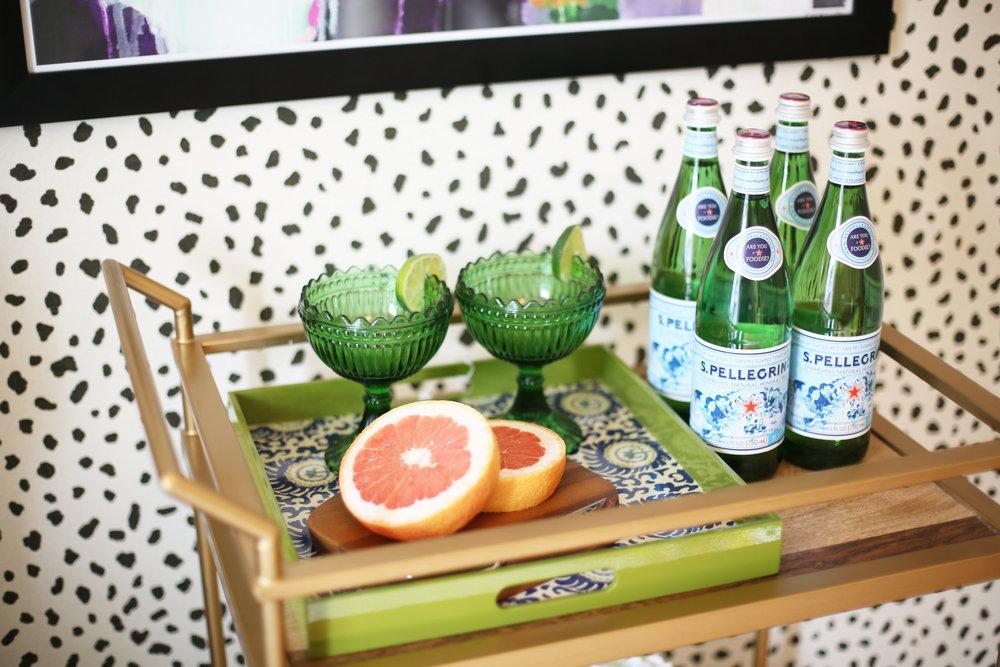 Summer Gold Bar Cart:summer wraps:tanzania wallpaper-6.jpg