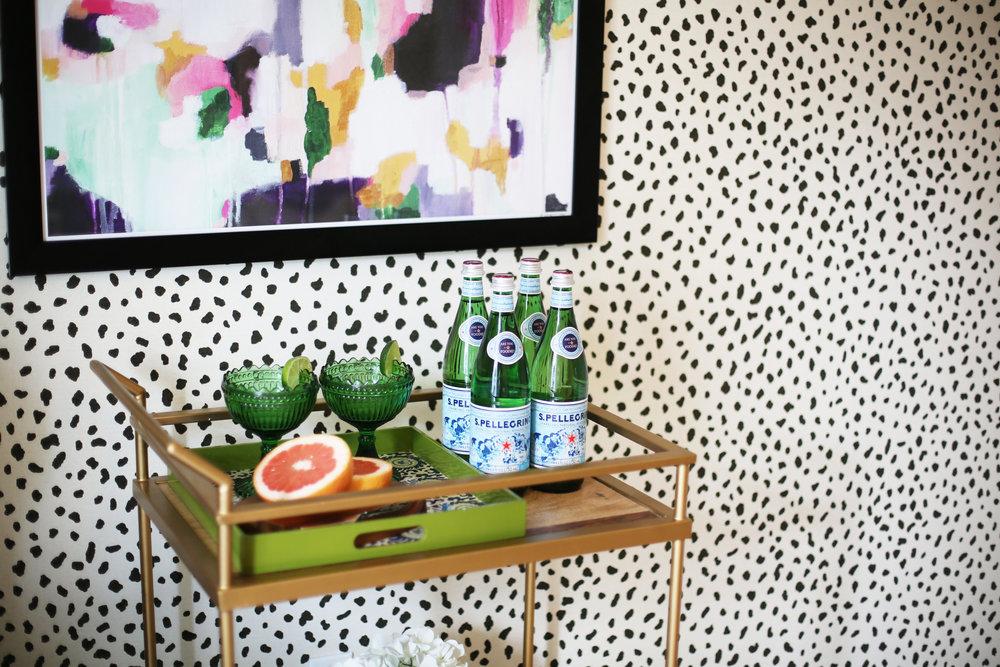 Summer Gold Bar Cart:summer wraps:tanzania wallpaper-7.jpg