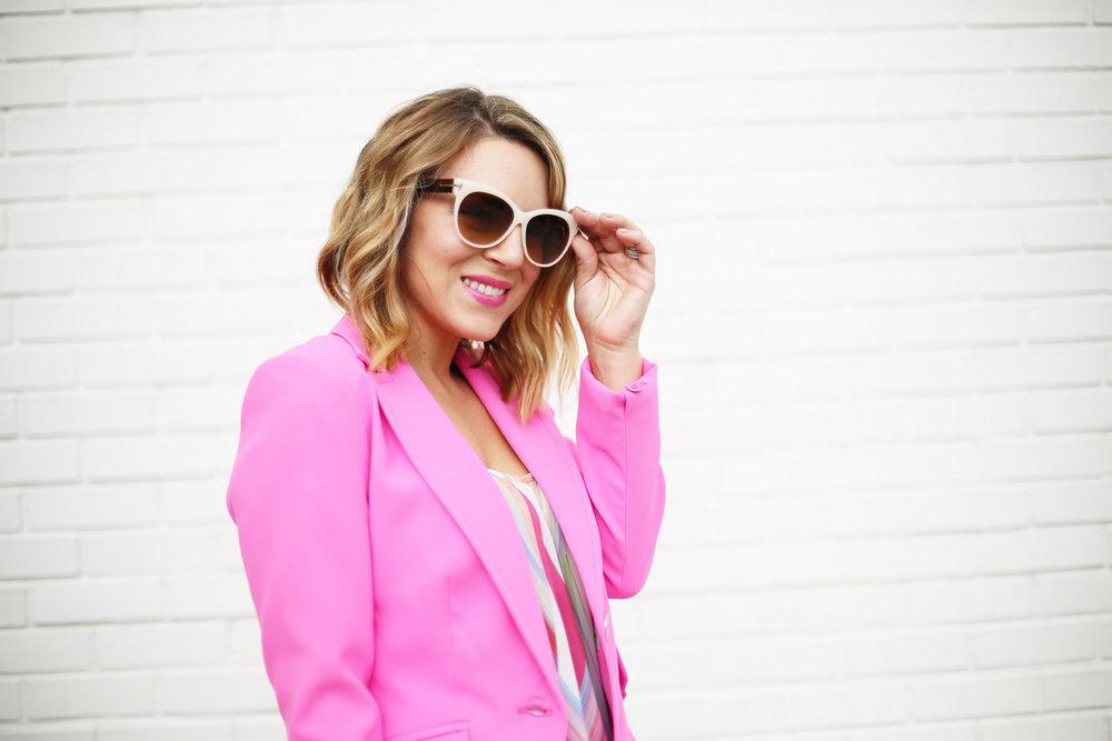 Summer Pink Short Set with Summer Bag- Trina Turk Set-4.jpg