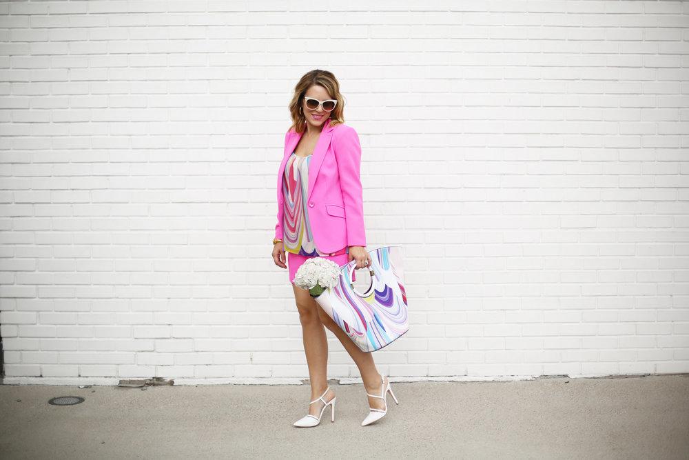 Summer Pink Short Set with Summer Bag- Trina Turk Set-8.jpg