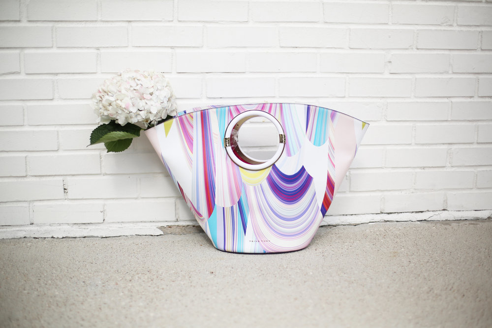 Summer Pink Short Set with Summer Bag- Trina Turk Set-1.jpg