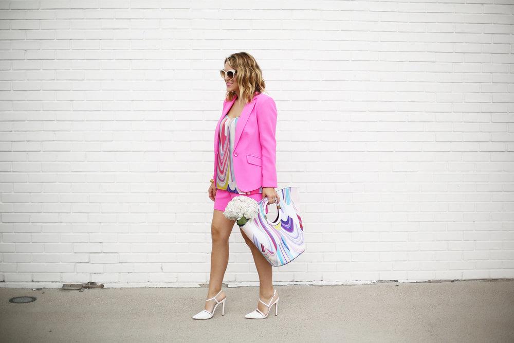 Summer Pink Short Set with Summer Bag- Trina Turk Set-9.jpg