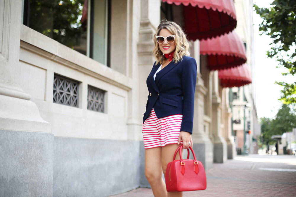 red, white and blue outfits, july 4th outfit, navy blazer and red handbag-5.jpg