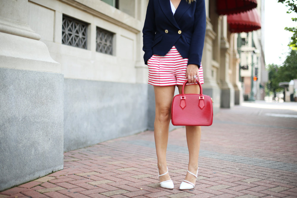 red, white and blue outfits, july 4th outfit, navy blazer and red handbag-7.jpg