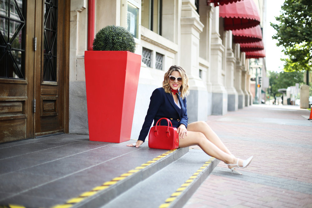 red, white and blue outfits, july 4th outfit, navy blazer and red handbag-9.jpg