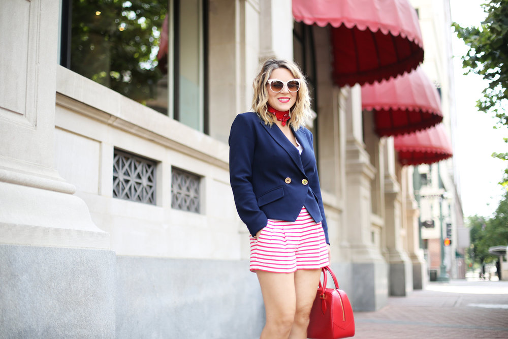 red, white and blue outfits, july 4th outfit, navy blazer and red handbag-6.jpg