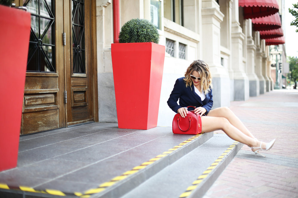 red, white and blue outfits, july 4th outfit, navy blazer and red handbag-10.jpg