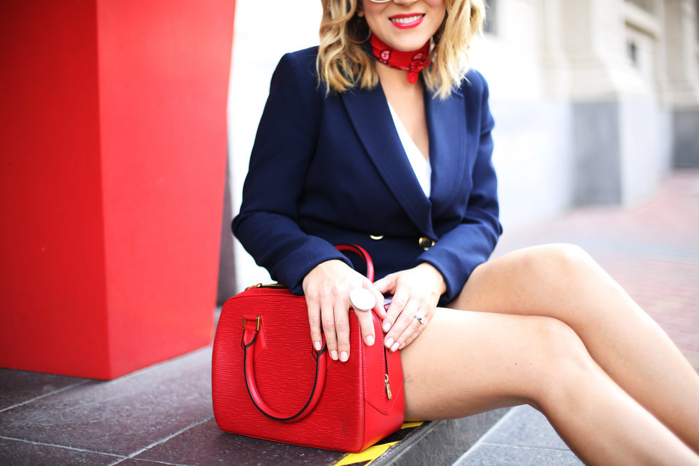 red, white and blue outfits, july 4th outfit, navy blazer and red handbag-12.jpg