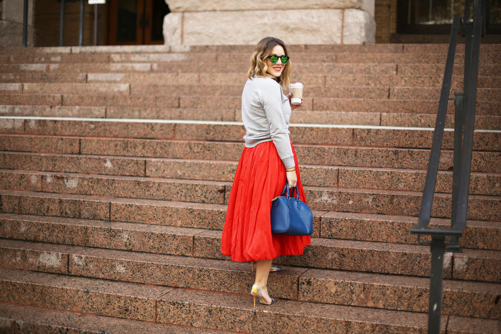 valentine's day outfit-red skirt-blue louis vuitton- j.crew top-12.jpg