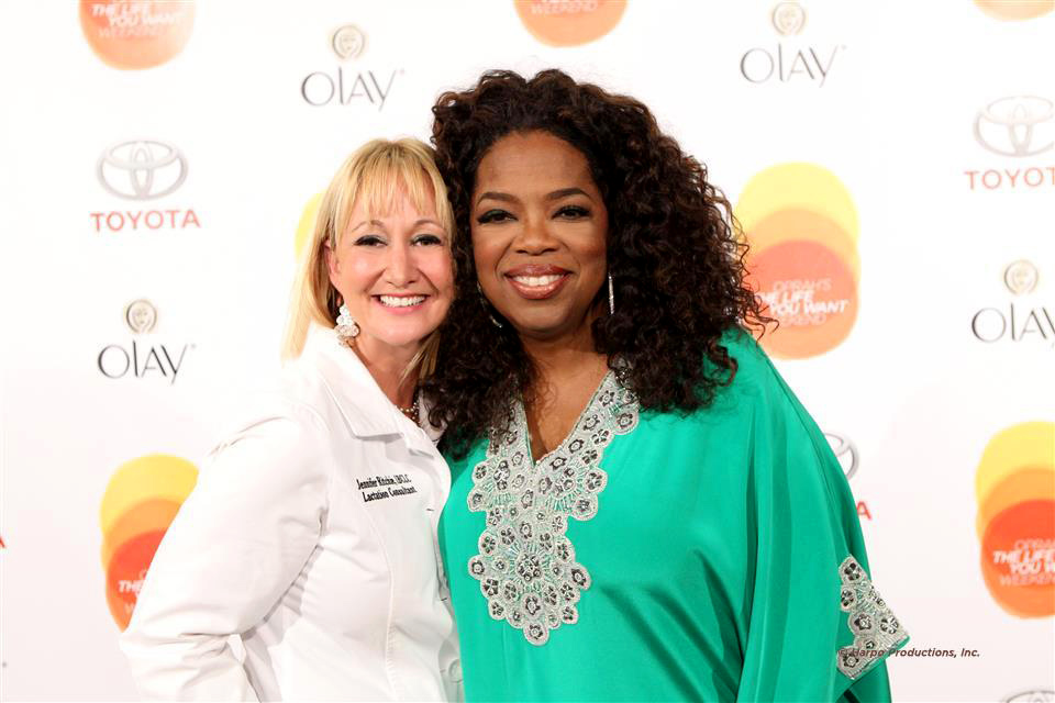 Jennifer Ritchie and Oprah