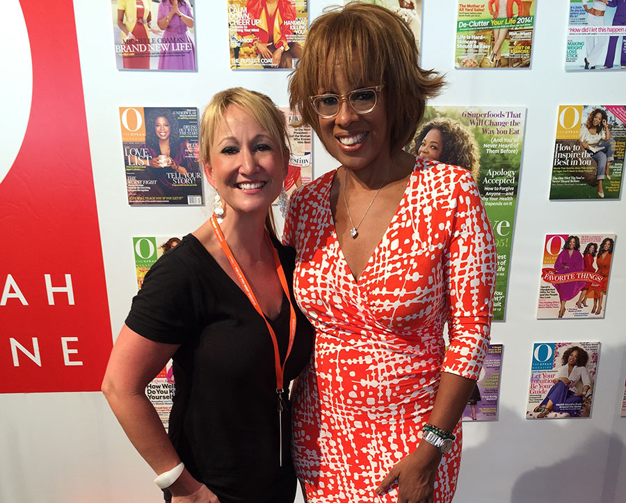 Jennifer Ritchie with Gayle King