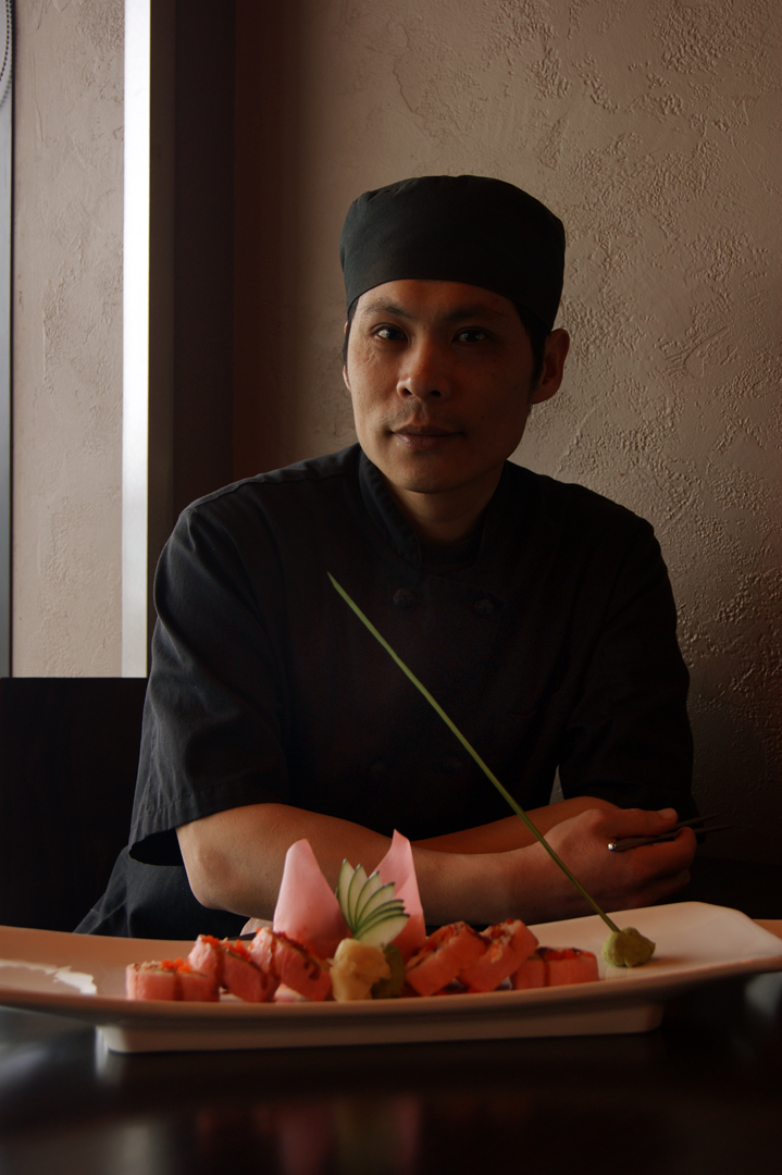 Moon Law, Sushi Chef & Restauranteur