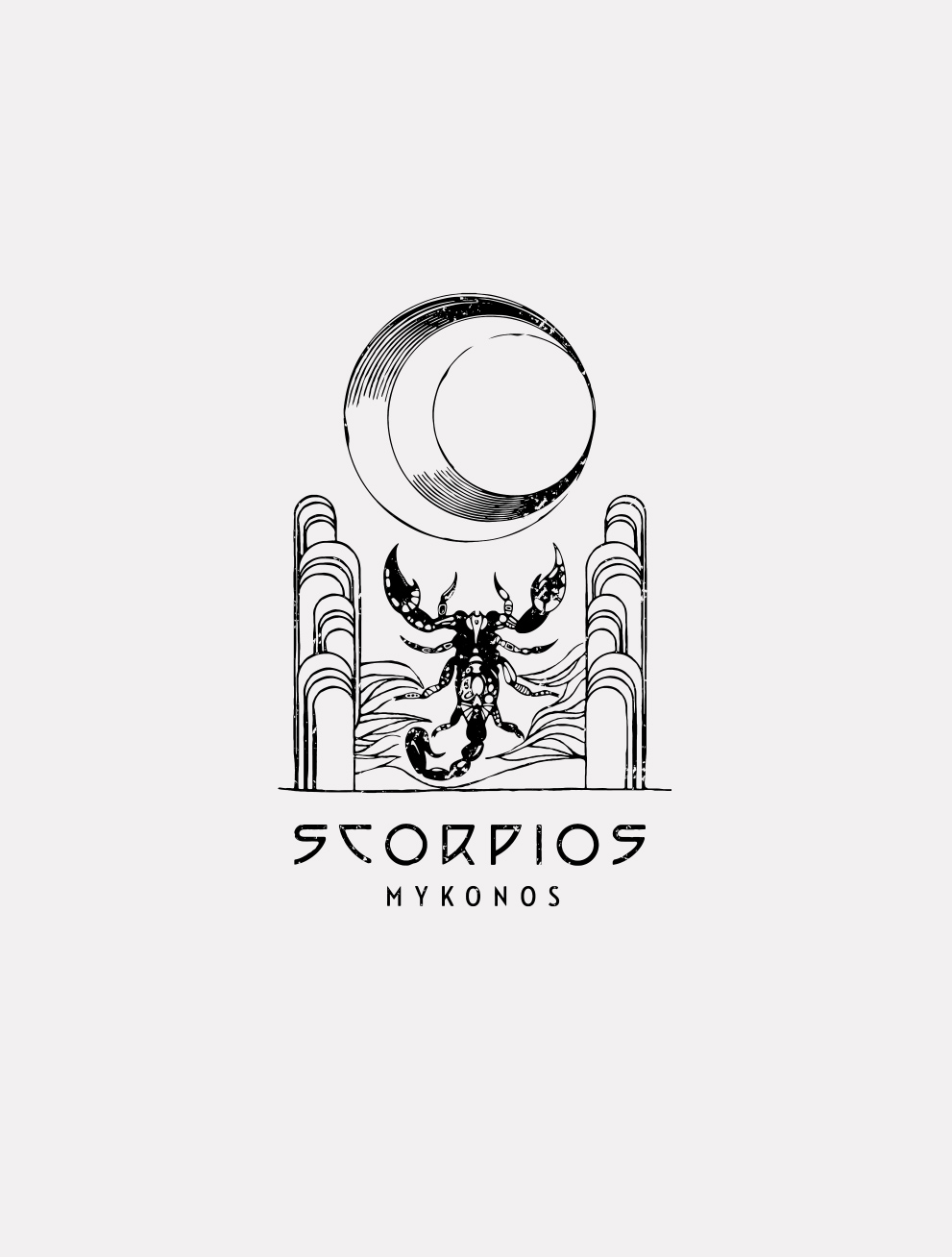 Iconography - In envisioning Scorpios, its makers turned the symbols of ancient ritual and occultism, finding its key iconography—as well as its original logo—in
