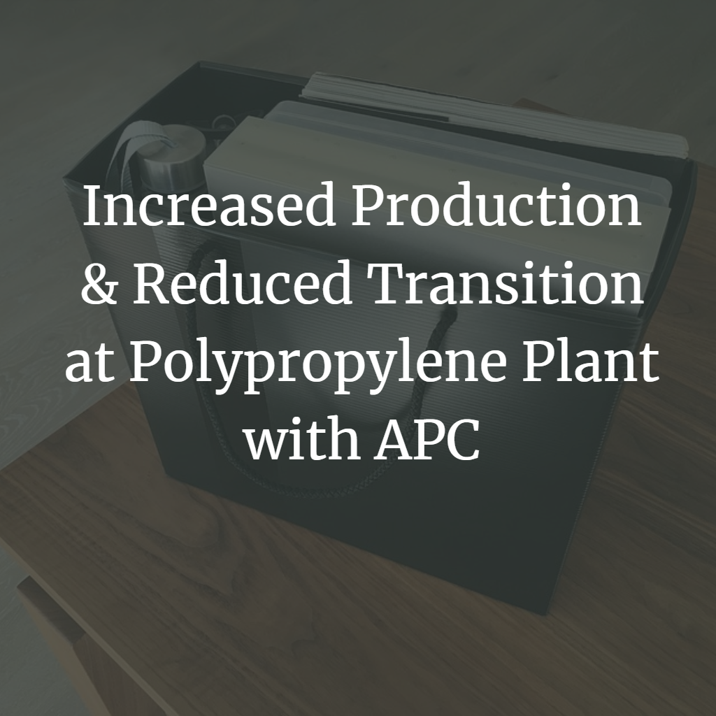 Efficiency Improvement on Polypropylene Plant with APC