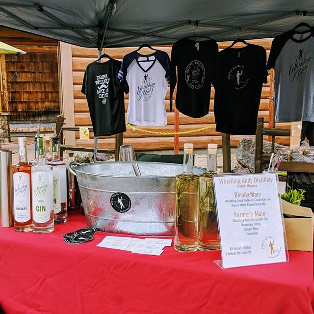 Come check out Bigfork's annual Whitewater Festival this weekend! We're setup downtown pouring Bloody Mary's and Mules.