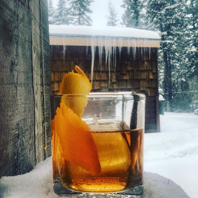 Whelp. It's cold outside. Better have a whiskey.