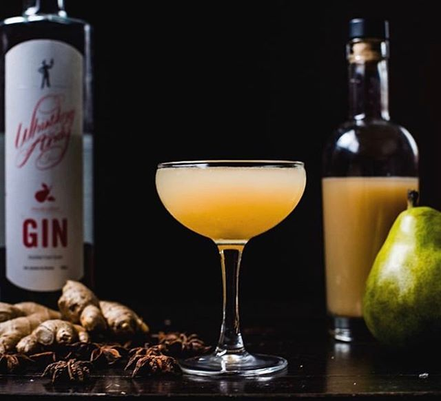 Sometimes the drink speaks for itself- garnish be damned. Head over to @montana_mixology to see what he created with our Pink Peppercorn Pear Gin.