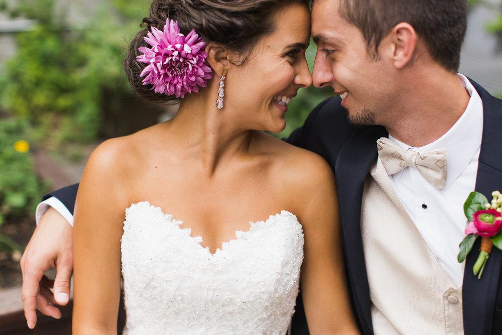 Photography :Allison Hopperstad Photography| Floral: Laine Moire| Hair: 139 Hair by Heidi |Wedding Dress: The Wedding Shoppe | Tux: Savvi Formalwear