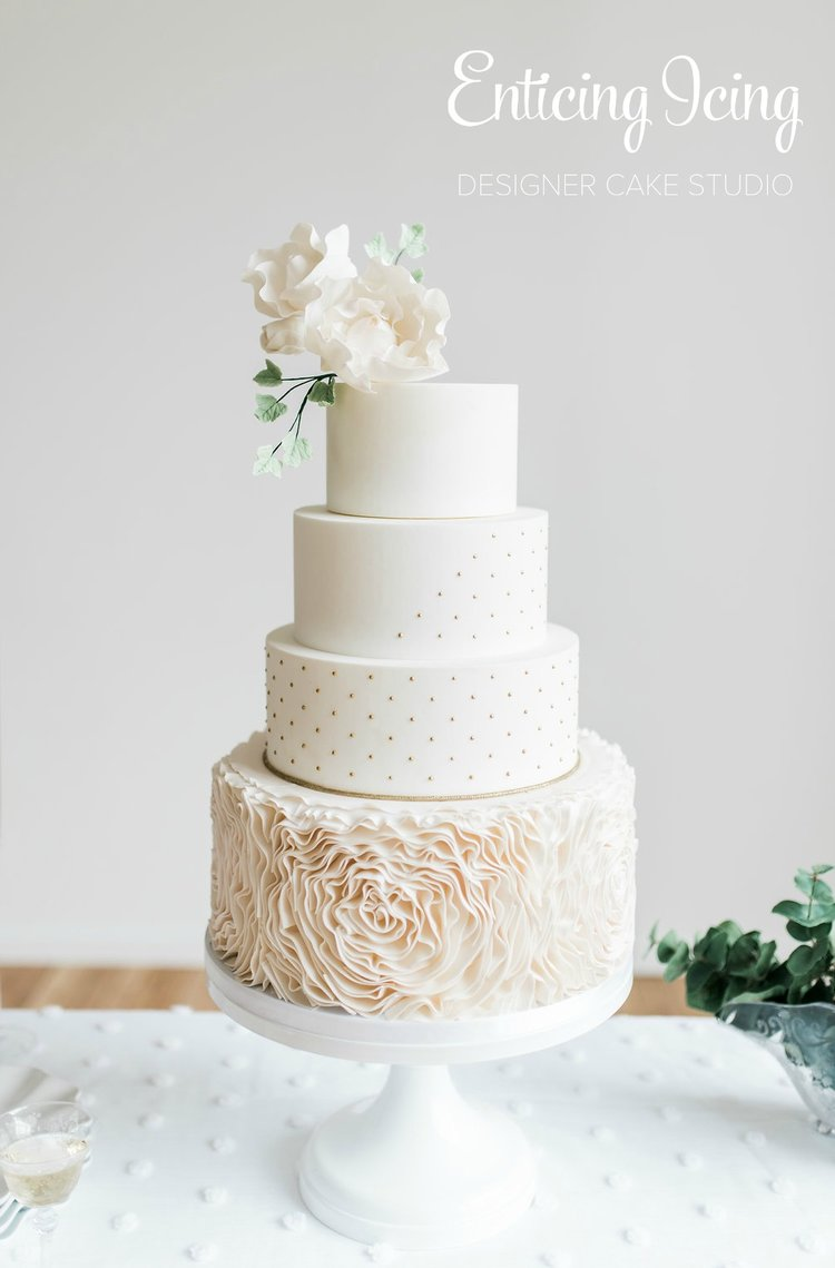 Enticing Icing — How Much Wedding Cake Do I Need?