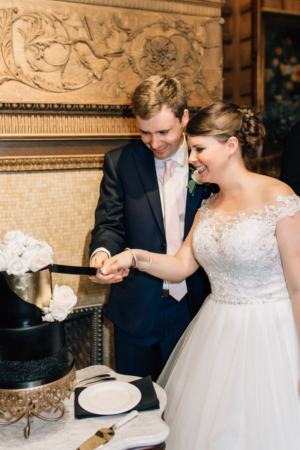 Captured by Justina Lousie Photography at the Van Dusen Mansion