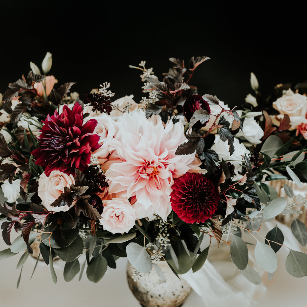 Too pretty not to share... beautiful bridal bouquet by the one and only  Pristine Floral !
