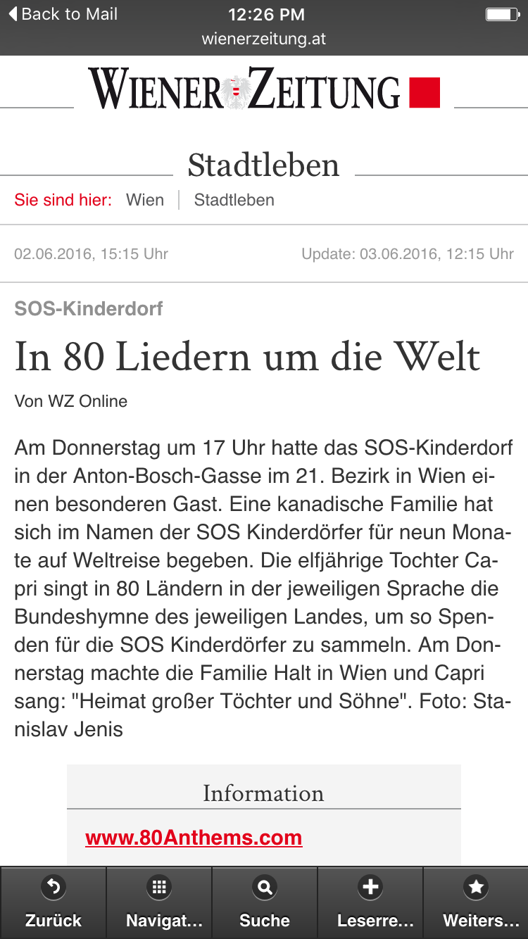 Austria: Wiener Zeitung