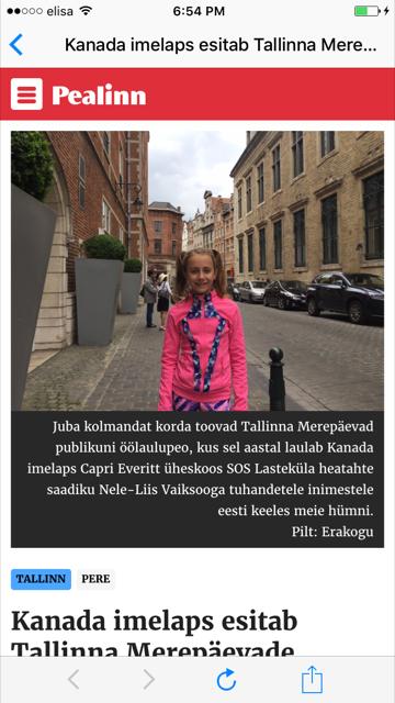 Estonia: Pealinn