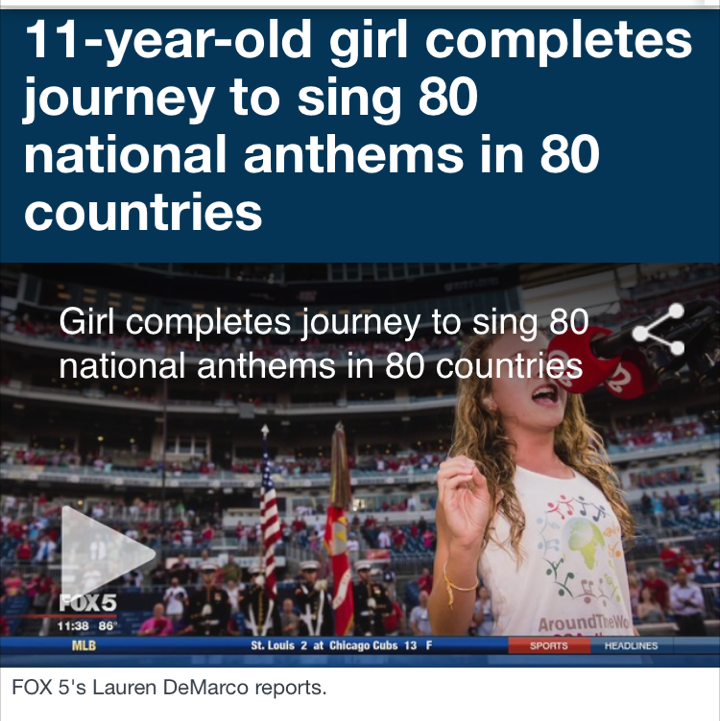 We Did It! Last Anthem Performed!!