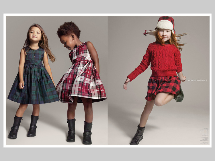 Joe Fresh Kids Editorial