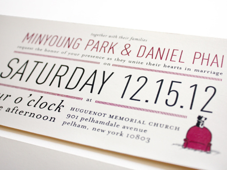 Minnie + Dan: wedding stationery suite