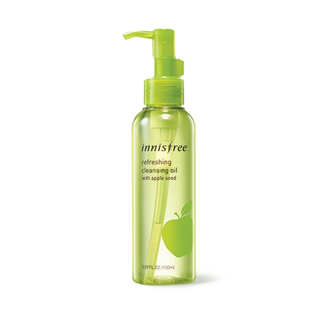 Innisfree  cleansing oil w/apple seed