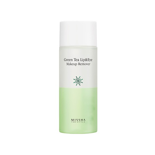 Missha  green tea eye makeup remover