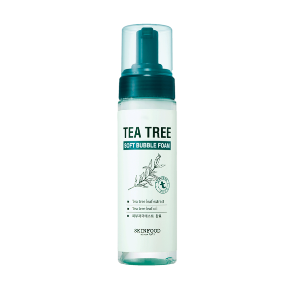 Skin Food  tea tree foam cleanser