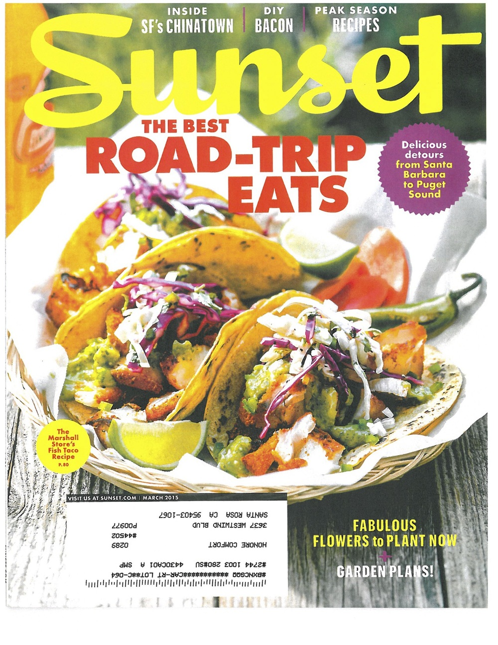 March 2015 - Sunset Mag Roadtrips for Food lovers.jpg