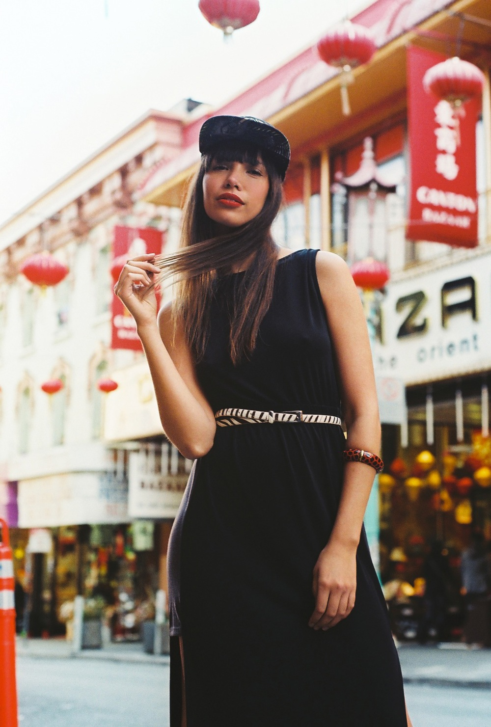 Model + Stylist + Co-Producer  Shot by Julian Edwards