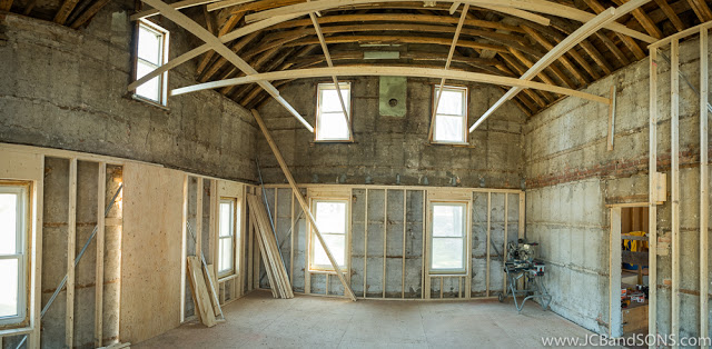 jcb and sons carpentry renovation remodel restoration construction building framing basement repairs priceville grey highlands durham west grey municipality of owen sound grey county bruce county hanover walkerton farmhouse this old house wood I floor joists