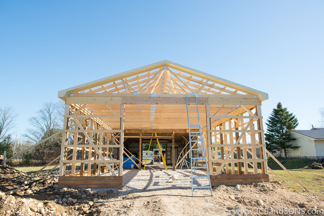 JCB and SONS carpentry pole shed framing steel trims siding roofing pole shed honey bees extraction agriculture west grey township of southgate Durham Owen Sound Mount Forest