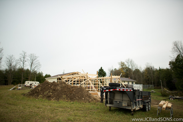 jcb and sons carpentry addition pole shed construction southgate durham hanover west grey ontario building contracting agriculture honey extraction bee keeper