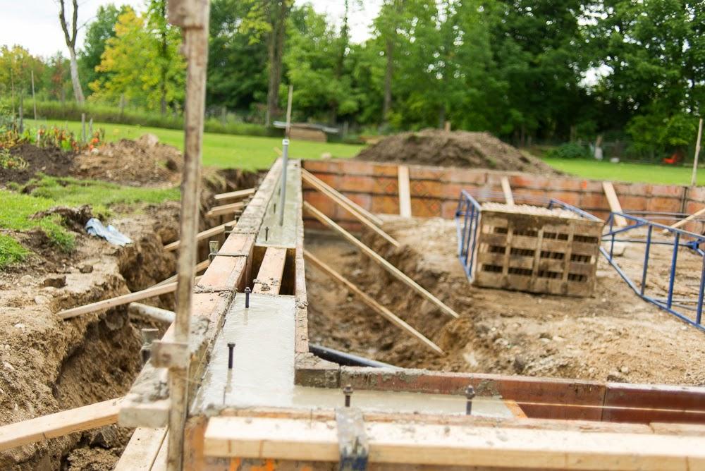 JCB & SONS Carpentry Construction Building Durham West Grey Owen Sound Hanover Builders Forms Concrete Grey Bruce Construction Garage New Renovation Project Excavating Link Belt Framing