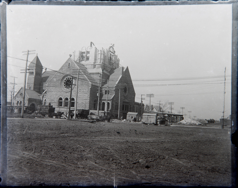 This church still stands today, more than 100 years after it's construction.