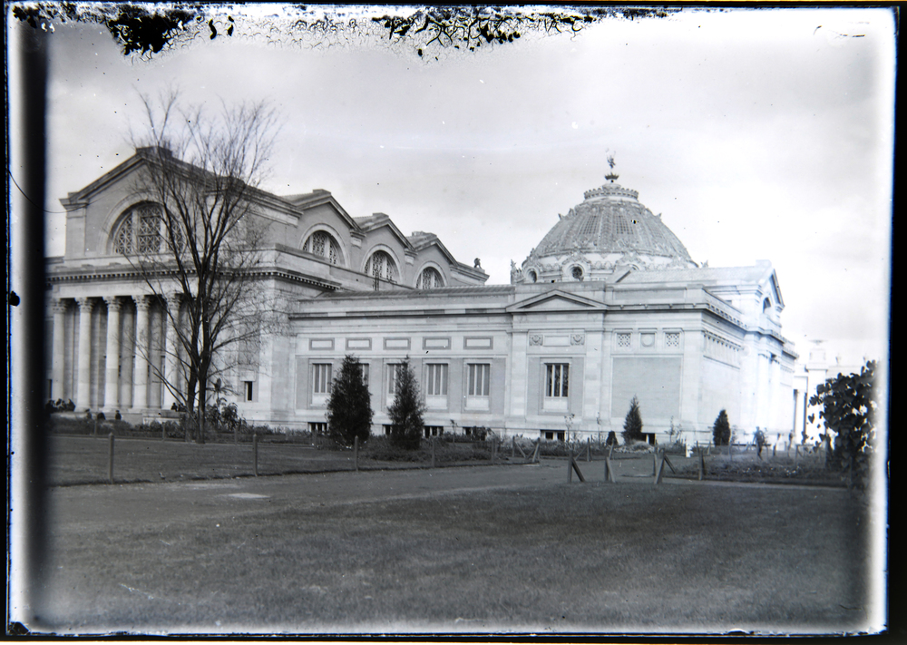 Early view of the Saint Louis Art Museum.