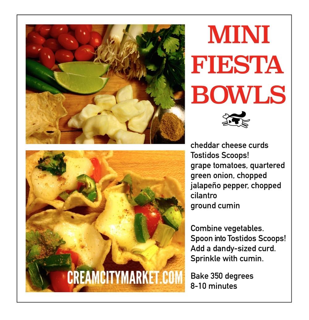 Mini Fiesta Bowls