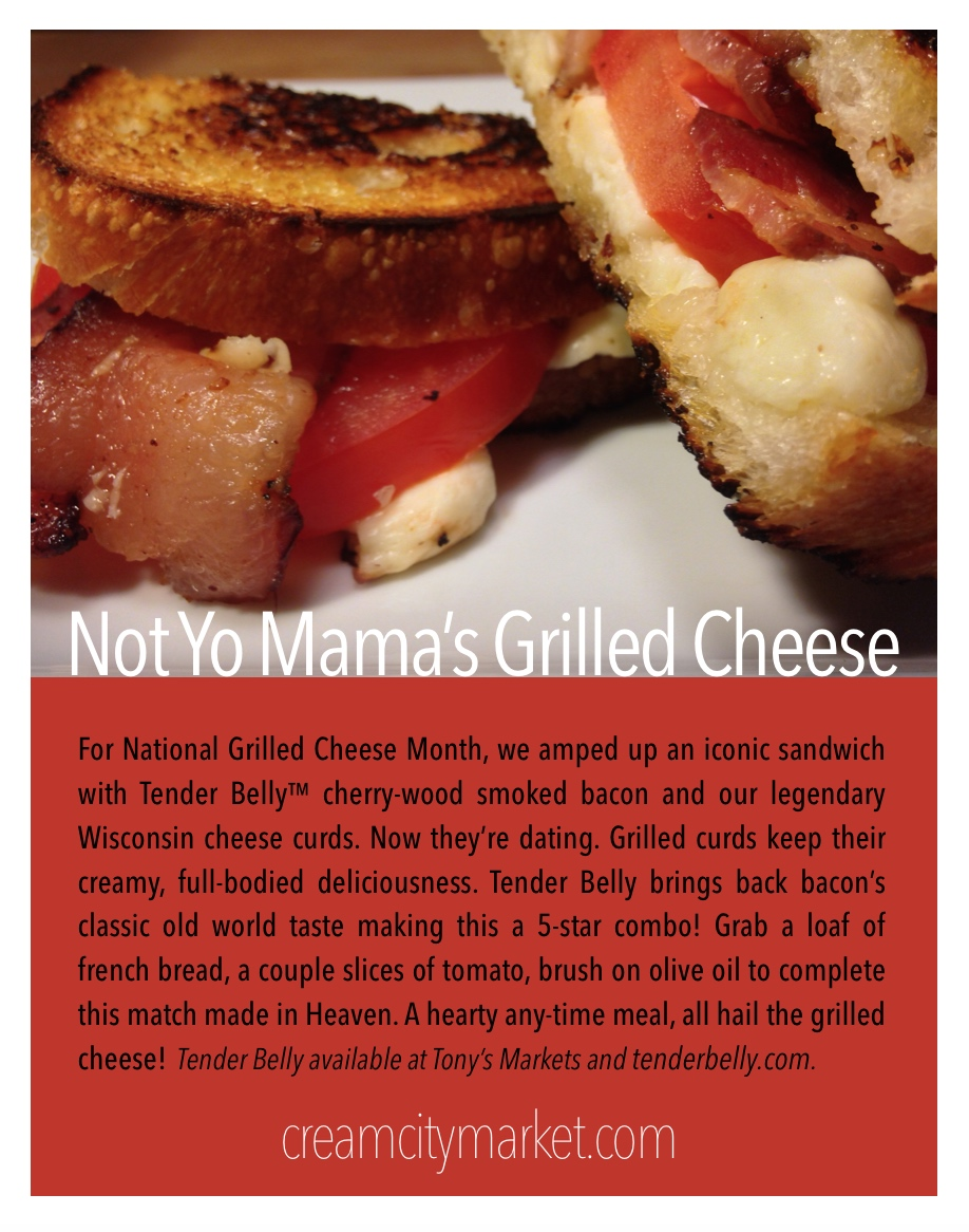 Not Yo Mama's Grilled Cheese