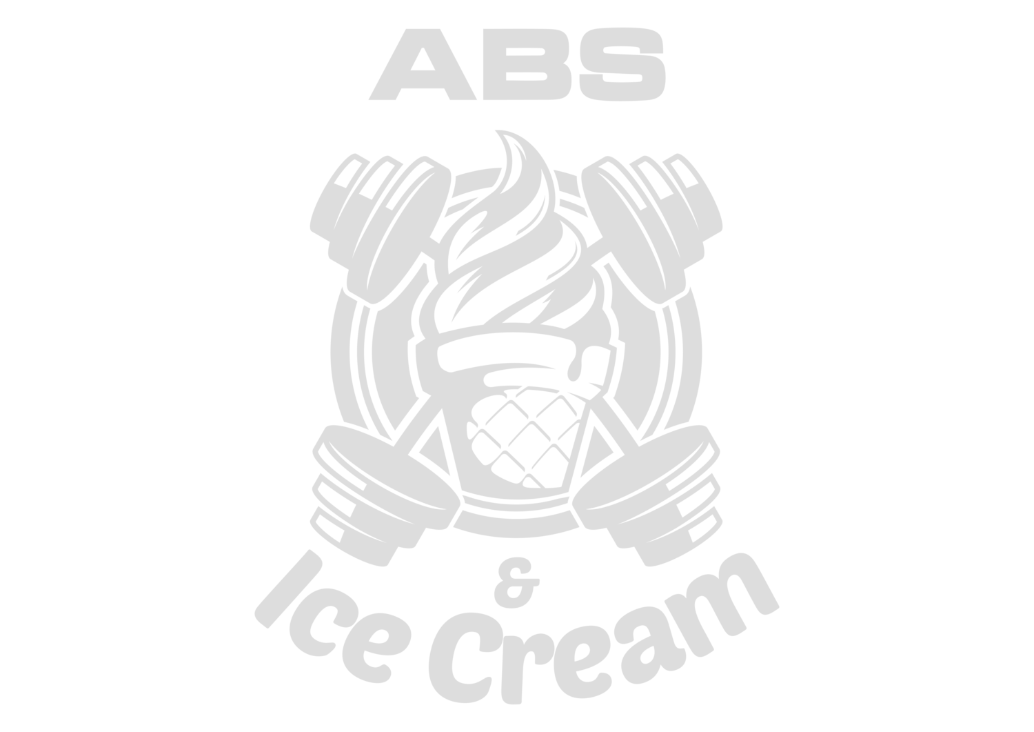 Abs and Ice Cream